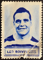 V8856--1961-62 Topps Stamps NHL Hockey Leo Boivin
