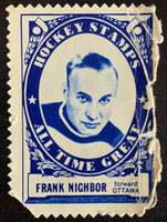 V8859--1961-62 Topps Stamps NHL Hockey Frank Nighbor