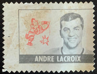 V8873--1969-70 O-Pee-Chee Stamps NHL Hockey Andre Lacroix