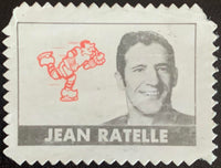 V8882--1969-70 O-Pee-Chee Stamps NHL Hockey Jean Ratelle