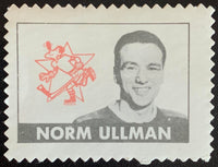 V8886--1969-70 O-Pee-Chee Stamps NHL Hockey Norm Ullman