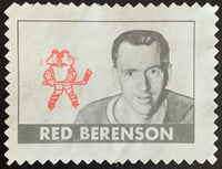 V8890--1969-70 O-Pee-Chee Stamps NHL Hockey Red Berenson