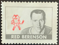 V8891--1969-70 O-Pee-Chee Stamps NHL Hockey Red Berenson