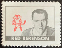 V8892--1969-70 O-Pee-Chee Stamps NHL Hockey Red Berenson