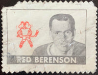 V8893--1969-70 O-Pee-Chee Stamps NHL Hockey Red Berenson