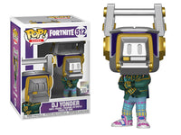 Funko Pop - 512 Games Fortnite - DJ Yonder Vinyl Figure