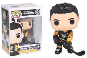 Funko Pop - 02 NHL Sidney Crosby Home Pittsburgh Penguins Vinyl Figure