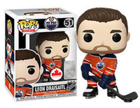 Funko Pop - 51 NHL Leon Draisaitl Home Edmonton Oilers Vinyl Figure *EXCLUSIVE