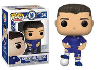 Funko Pop - 34 Soccer - Christian Pulisic Chelsea Football Club Vinyl Figure