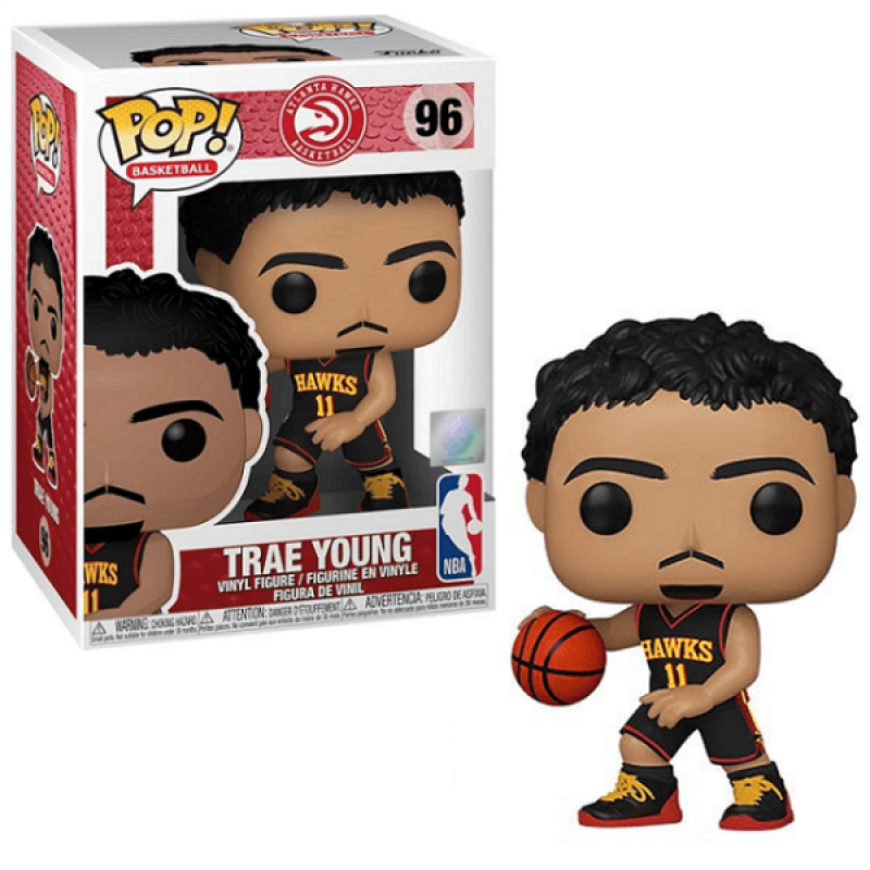 Funko Pop - 96 NBA Basketball - Trae Young Atlanta Hawks Vinyl Figure