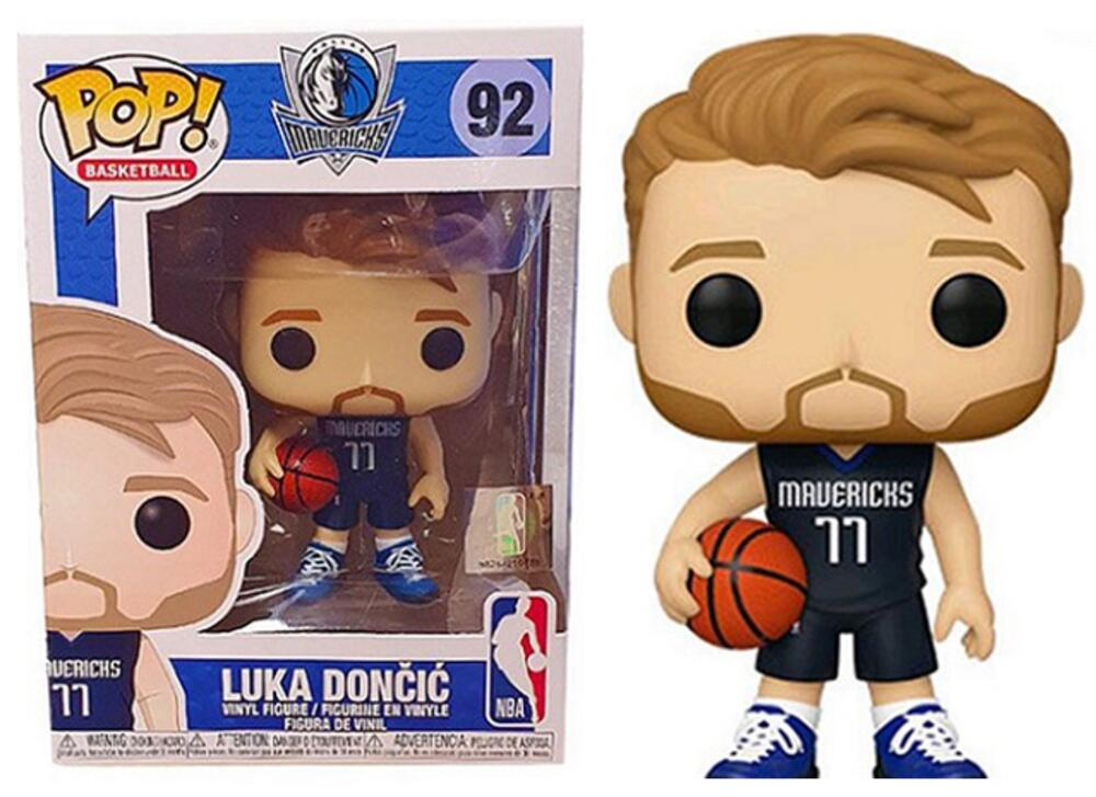 Funko Pop - 92 NBA Basketball - Luka Doncic Dallas Mavericks Vinyl Figure