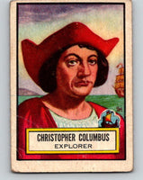 1952 Topps Look 'n See #51 Christopher Columbus Vintage Card V8975