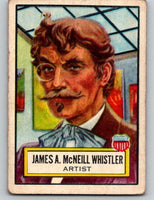 1952 Topps Look 'n See #23 James A.M. Whistler Vintage Card V8977