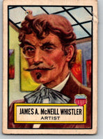 1952 Topps Look 'n See #23 James A.M. Whistler Vintage Card V8978