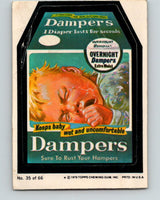 1979 Wacky Packages - #35 Dampers Keeps Baby Uncomfortable V9991