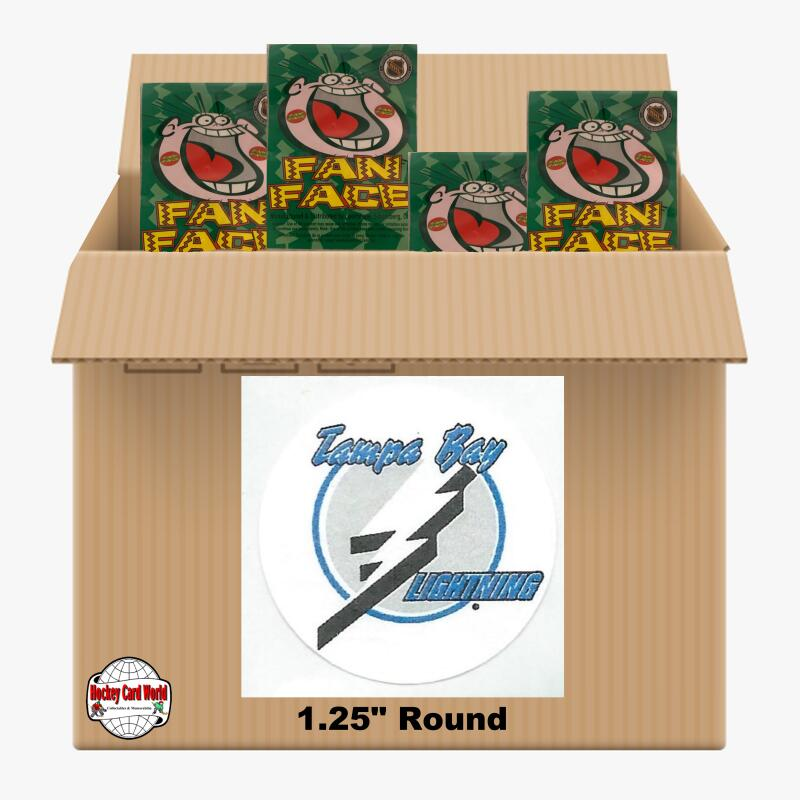 Tampa Bay Lightning 1350 pack case - 4 Logos pack - 5400 Stickers