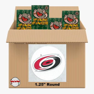 Carolina Hurricanes 1000 pack case - 4 Logos pack - 4000 Stickers