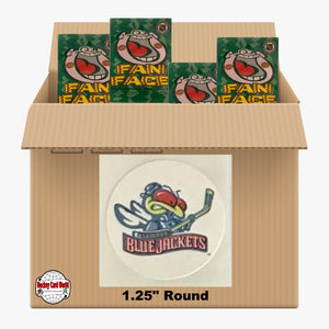 Columbus Blue Jackets 980 pack case - 4 Logos pack - 3920 Stickers