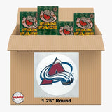 Colorado Avalanche 1150 pack case - 4 Logos pack - 4600 Stickers
