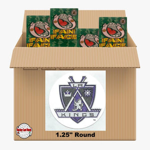 Los Angeles Kings 1000 pack case - 4 Logos pack - 4000 Stickers