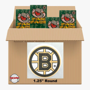 Boston Bruins 1000 pack case - 4 Logos pack - 4000 Stickers