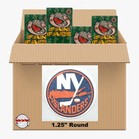 New York Islanders 900 pack case - 4 Logos pack - 3600 Stickers