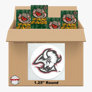 Buffalo Sabres 500 pack case - 4 Logos pack - 2000 Stickers