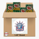 New York Rangers 550 pack case - 4 Logos pack - 2200 Stickers