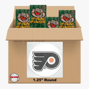 Philadelphia Flyers 500 pack case - 4 Logos pack - 2000 Stickers