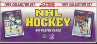 1991-92 Score NHL Hockey Collector Sealed Factory Set  - 440 Player Cards