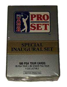 1990 PGA Golf Tour Pro Set Special Inaugural Hobby Sealed Set - 100 Cards