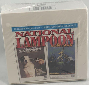 1993 Century National Lampoon Hobby Sealed Box - 36 packs