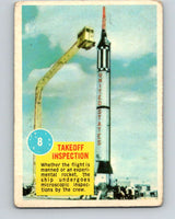1963 Topps Astronauts #8 Takeoff Inspection V10127