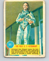 1963 Topps Astronauts #11 The First U.S. Astronaut V10129