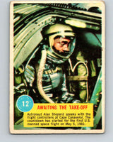 1963 Topps Astronauts #12 Awaiting The Take-Off V10130