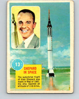 1963 Topps Astronauts #13 Shepard In Space V10131
