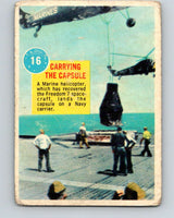 1963 Topps Astronauts #16 Carrying The Capsule V10133