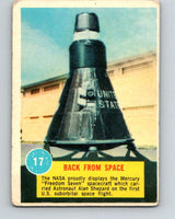 1963 Topps Astronauts #17 Back From Space V10135