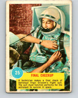 1963 Topps Astronauts #25 Final Checkup V10140