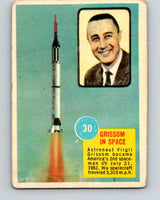 1963 Topps Astronauts #30 Grissom In Space V10143