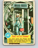 1963 Topps Astronauts #40 Inside The Test Chamber V10147