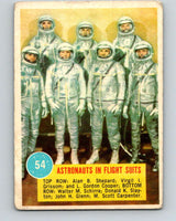 1963 Topps Astronauts #54 Astronauts In Flight Suits V10149