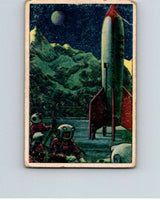 1951 Bowman Jets Rockets Spacemen #15 On the Moon  V10164