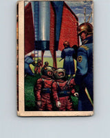 1951 Bowman Jets Rockets Spacemen #27 Detained by Martians  V10179