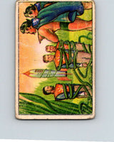1951 Bowman Jets Rockets Spacemen #44 Caught by Vines  V10193