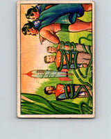1951 Bowman Jets Rockets Spacemen #44 Caught by Vines  V10194