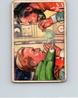 1951 Bowman Jets Rockets Spacemen #60 Thoughts Planet EX  V10207