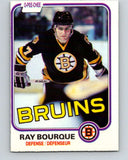 1981-82 O-Pee-Chee #1 Ray Bourque  Boston Bruins  V11598