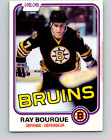 1981-82 O-Pee-Chee #1 Ray Bourque  Boston Bruins  V11599