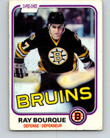 1981-82 O-Pee-Chee #1 Ray Bourque  Boston Bruins  V11601